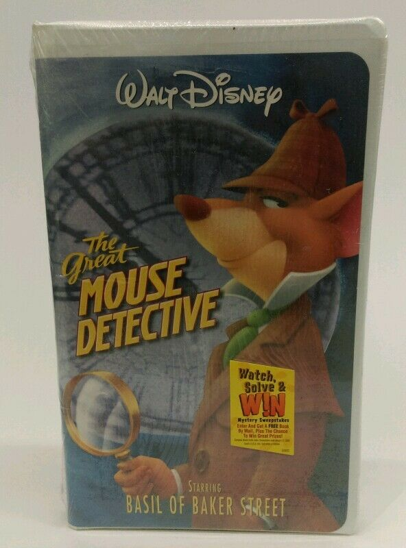 Sell Vhs Tapes >> NEW - SEALED Walt Disney Home Video THE GREAT MOUSE ...