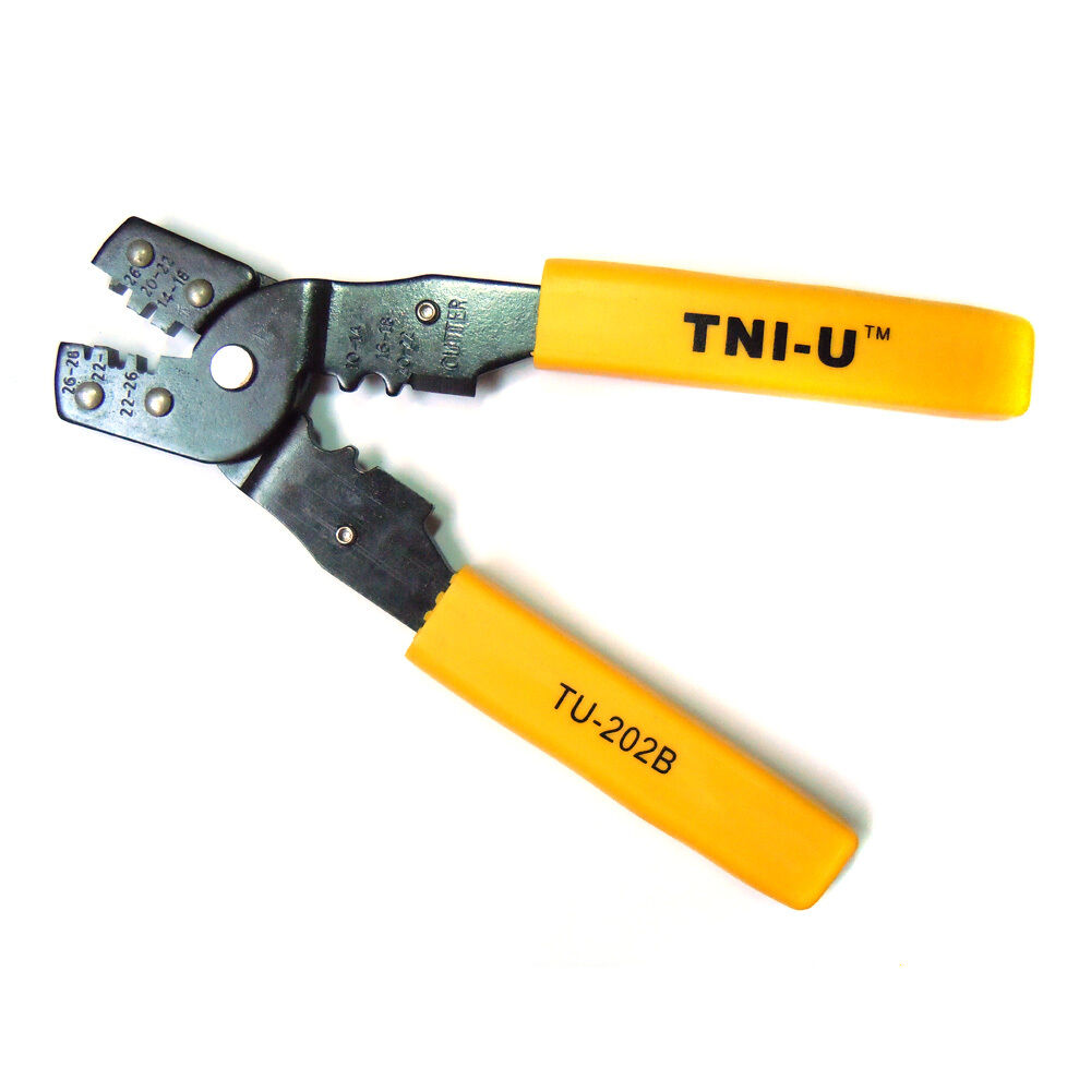 durable multi purpose crimping press pliers tools wire cable cutting plier ebay. Black Bedroom Furniture Sets. Home Design Ideas