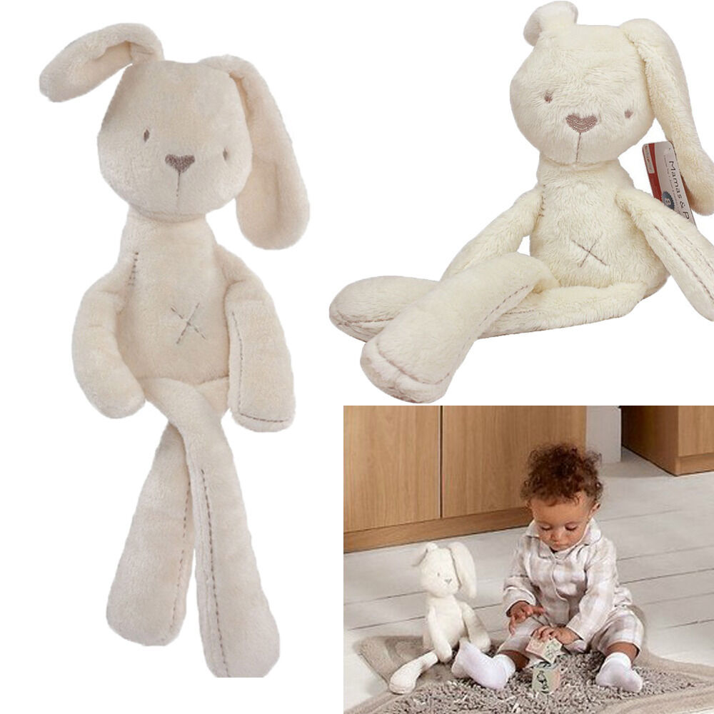 Baby Plush Toys : Baby kids girls rabbit bunny sleeping comfort stuffed