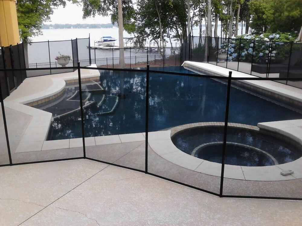 12x4 Pool Fence Pool Barrier Childproofing Removable