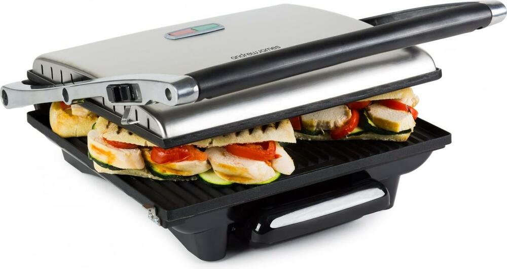 Andrew James Large Sandwich Panini Press Contact Toastie