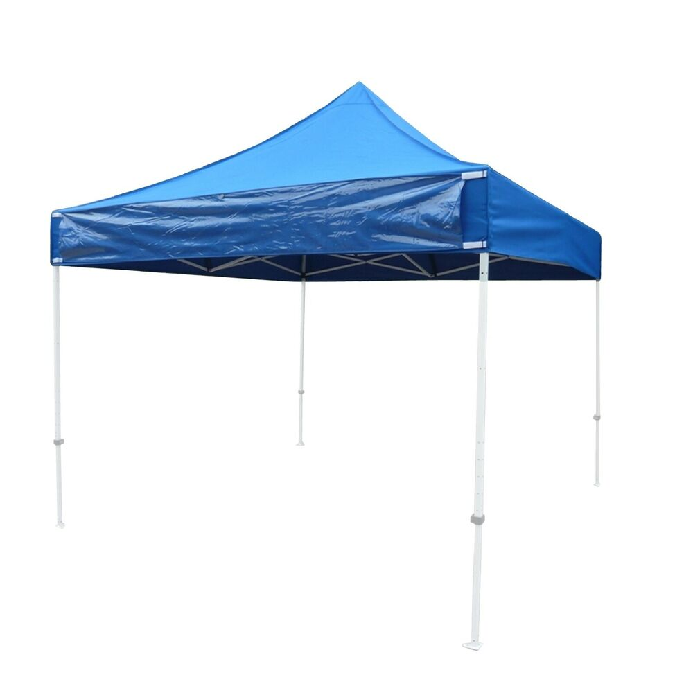 Ez up 10x10 gazebo tent canopy replacement canopy top w