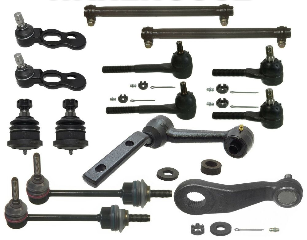 14 Piece Front Suspension Kit For 1998 2002 Ford Crown