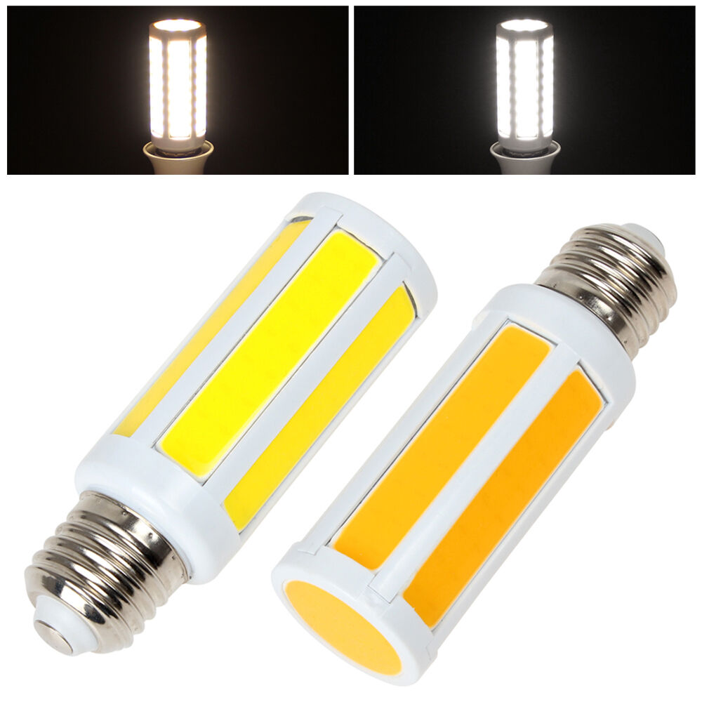 e27 2000lm ultra bright 12w cob led corn bulb white warm white light led lamp ebay. Black Bedroom Furniture Sets. Home Design Ideas