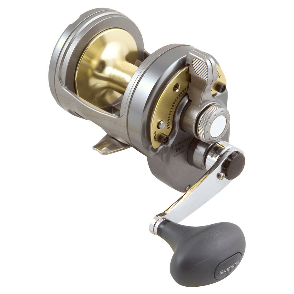 Shimano tyrnos 16 overhead fishing reel brand new at otto for Ebay fishing reels shimano