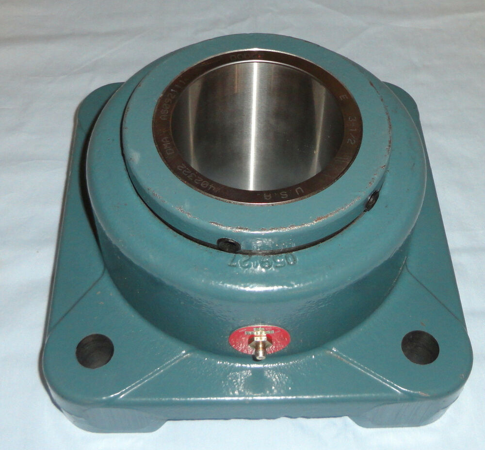3 4 Square Bore Bearings : Dodge f be r flange bearing quot shaft b e type