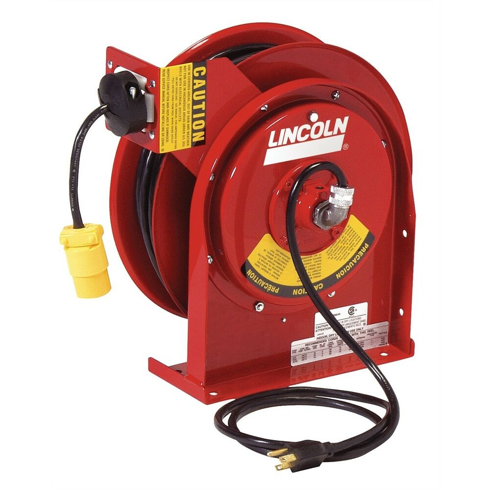 Heavy Duty Automatic Extension Cord Reel With 13 Amp
