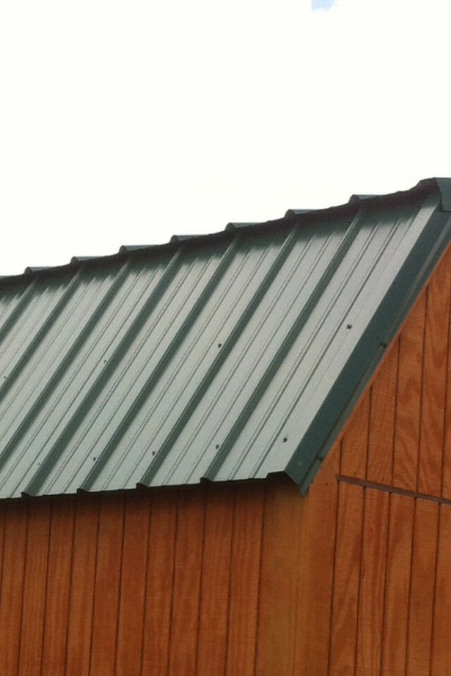 29ga Painted Metal Roofing and Steel Siding, Sheet Metal ...