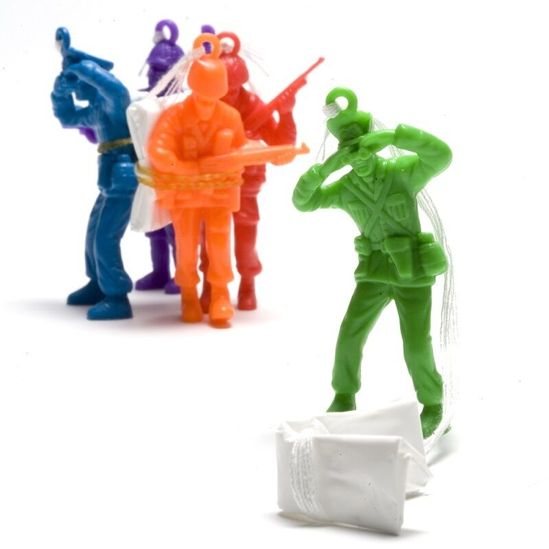Toy Soldiers For Boys : Parachute army men toy soldiers boys loot pinata