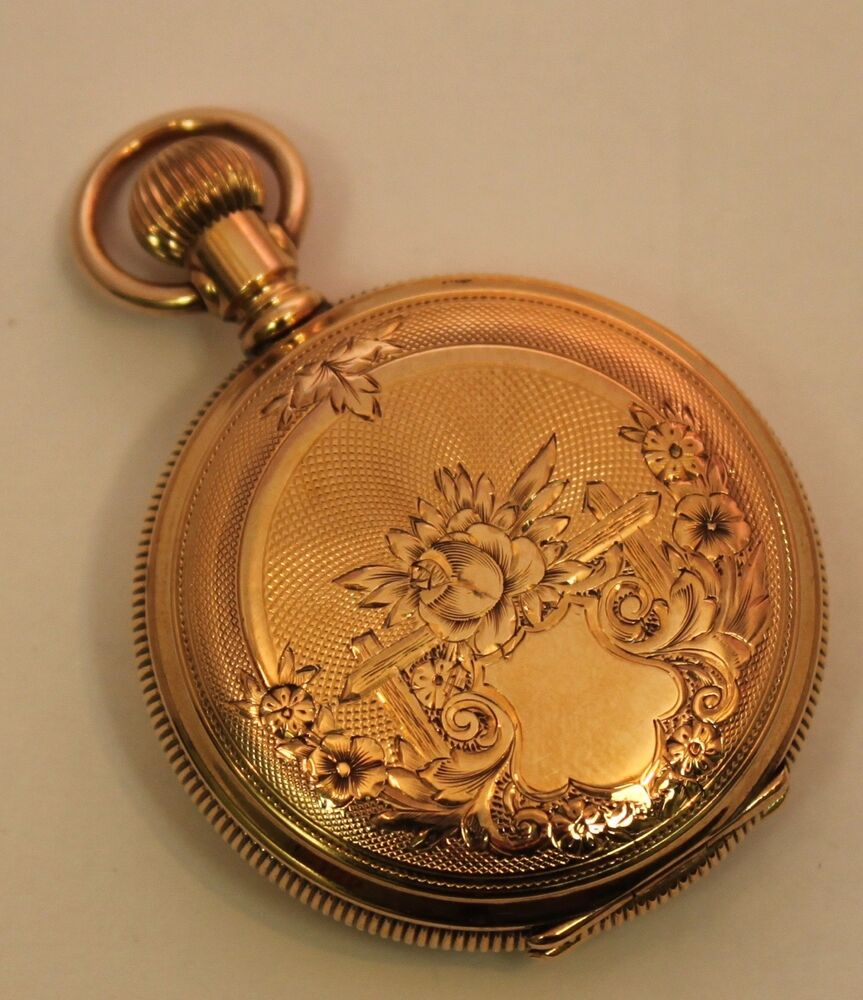 Antique elgin pocket watch dating