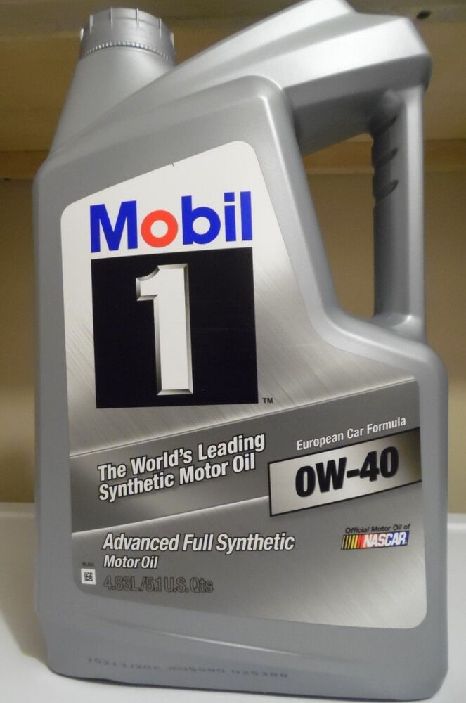 Mobil 1 0w 40 advanced full synthetic motor oil 5 qt for Top 5 synthetic motor oil