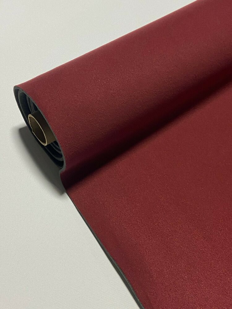 burgundy upholstery auto pro headliner fabric 3 16 foam backing 72 l x 60 w ebay. Black Bedroom Furniture Sets. Home Design Ideas