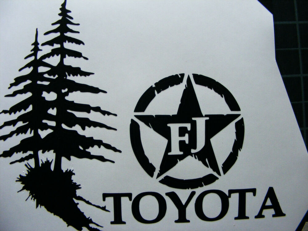 Fj Cruiser Sticker >> Toyota FJ Cruiser 4x4 Off Road Car Decal Sticker | eBay