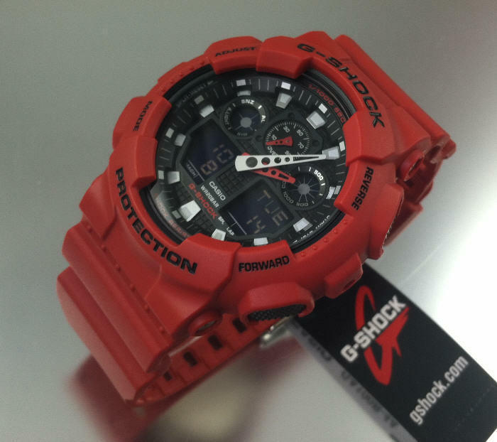 how to reset a g shock ga 1000 watch time