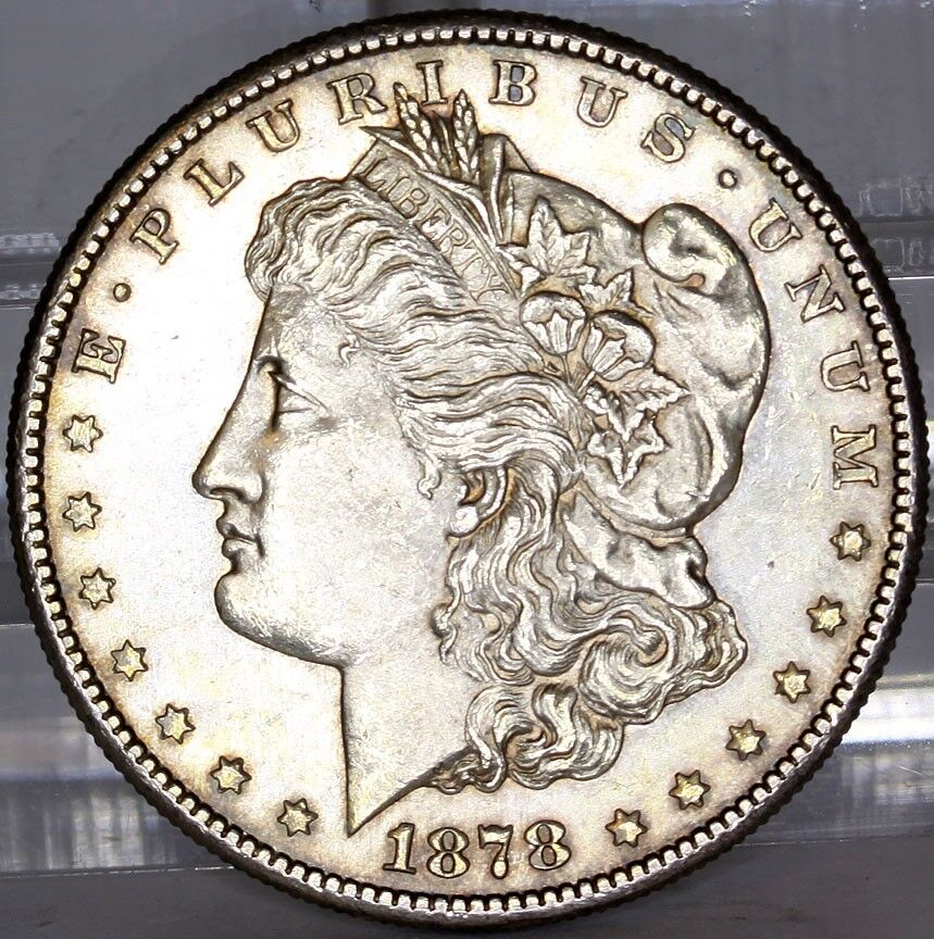 1878 S Morgan Silver Dollar Uncirculated Ebay
