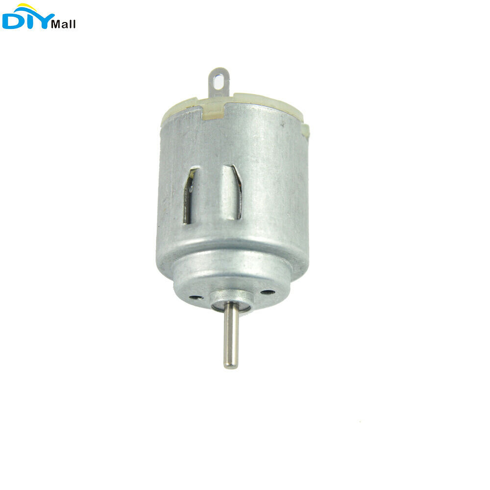 Dc 3v 6v 140 motor 2000 rpm for diy electric toy car ships for Small dc fan motor