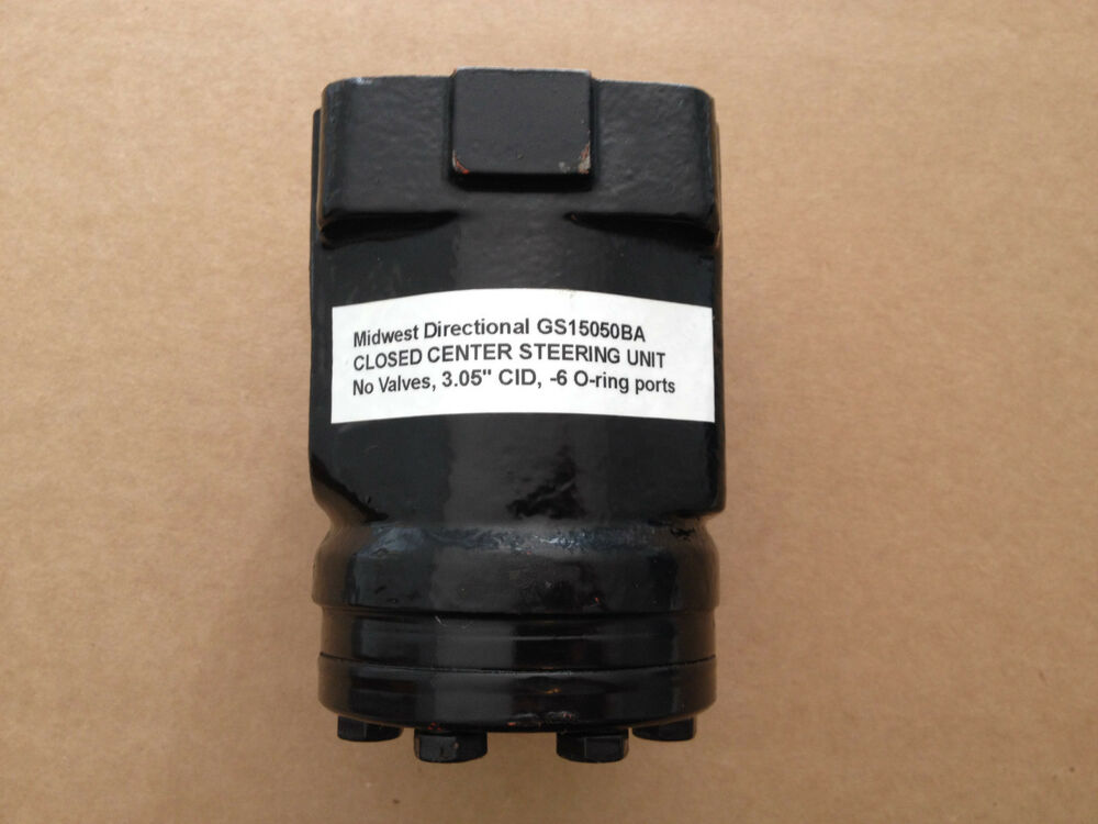 New midwest steering unit gs15050ba ebay for Ross hydraulic motor seal kit