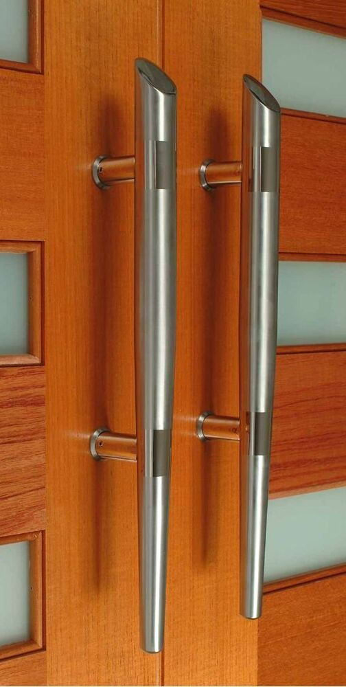 Exterior Premium Door Handles Pull Push Stainless Steel Entrance Gate Entry Ebay