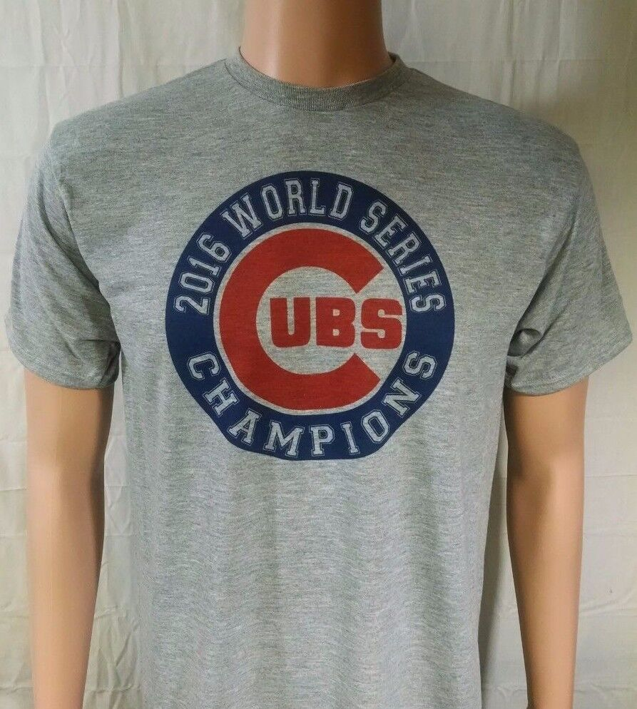chicago cubs 2016 world series t shirt all sizes funny jersey tee baseball s 2x ebay. Black Bedroom Furniture Sets. Home Design Ideas
