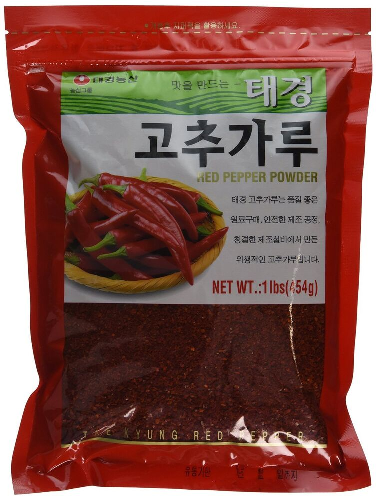 Korean hot pepper flakes gochugaru package net weight for Chili flakes
