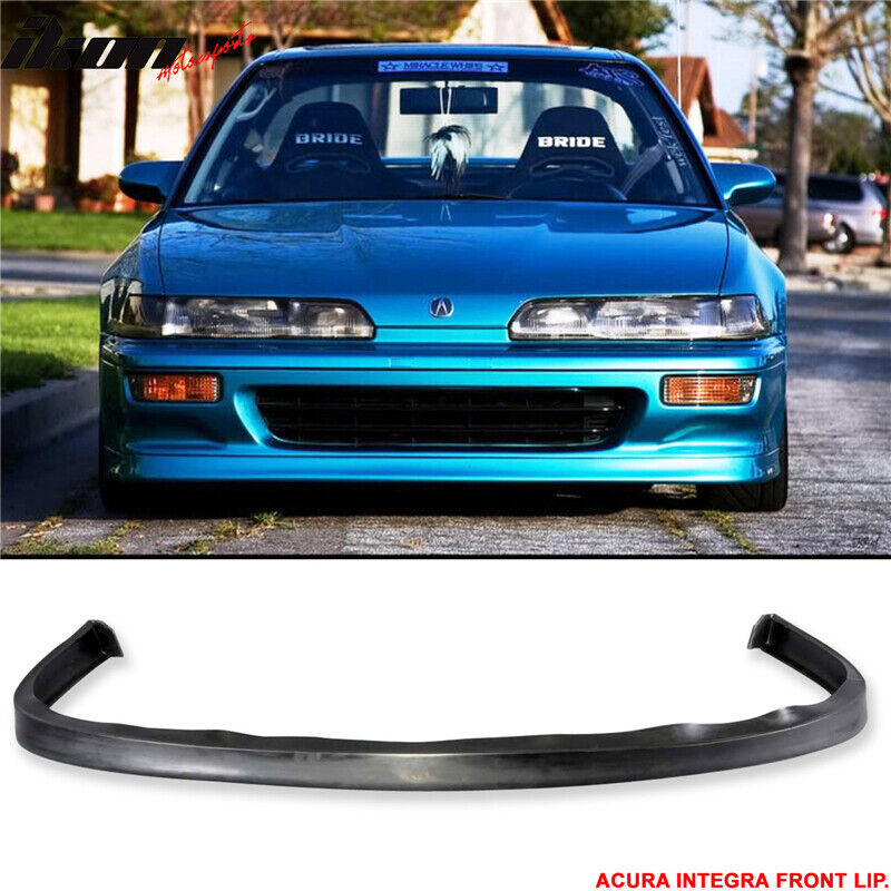 Details About Fits 92 93 Acura Integra JDP Style Poly Urethane Front Bumper Lip Spoiler PU