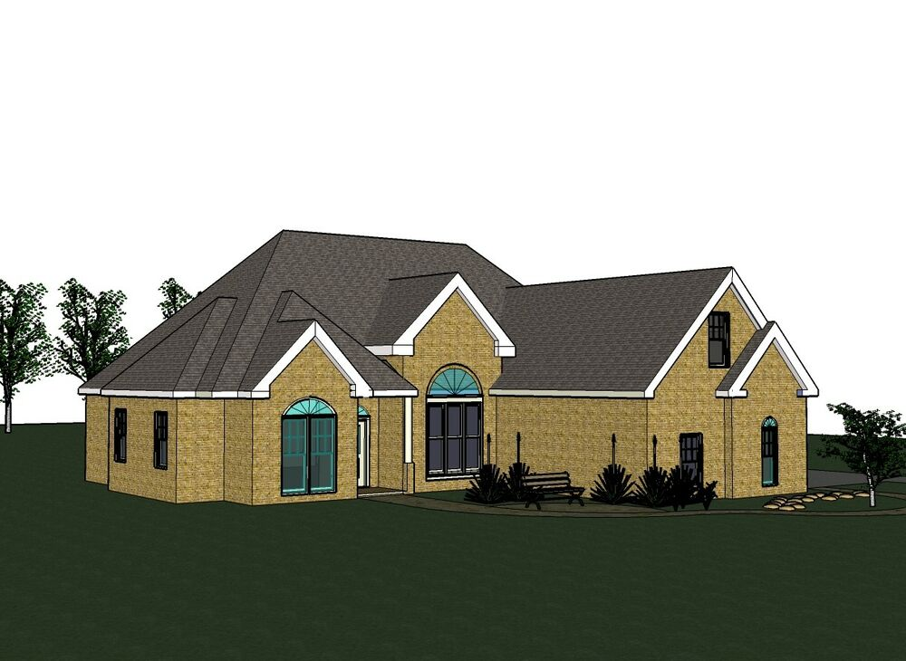 Amanda 1706g home house plan 3 bed room 2 bath split for 28x36 cabin plans