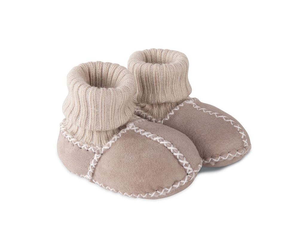 FELLHOF Booties 100% WOOL sheep fur skin baby newborn ...