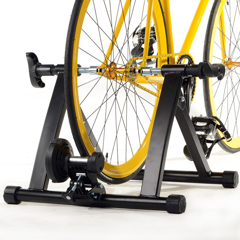 Indoor Exercise Bicycle Cycle Bike Trainer Stand Magnetic