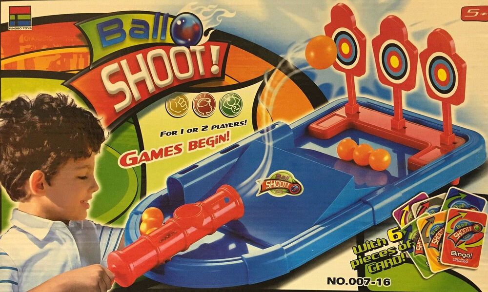 Game Toys To Practice : New ball shoot game kids shooting gallery skill games