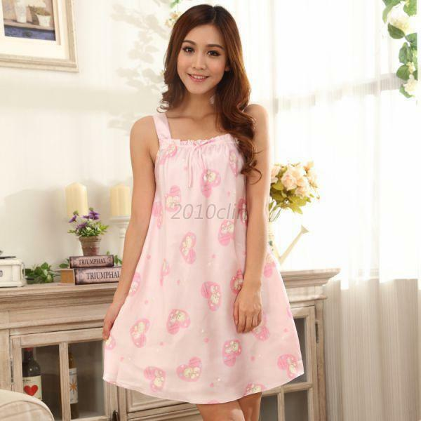 Great Cute Womens Cartoon Pig Pattern Sleepwear Pajamas