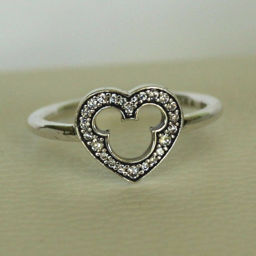 Sparkling Heart Ring Pandora Pictures