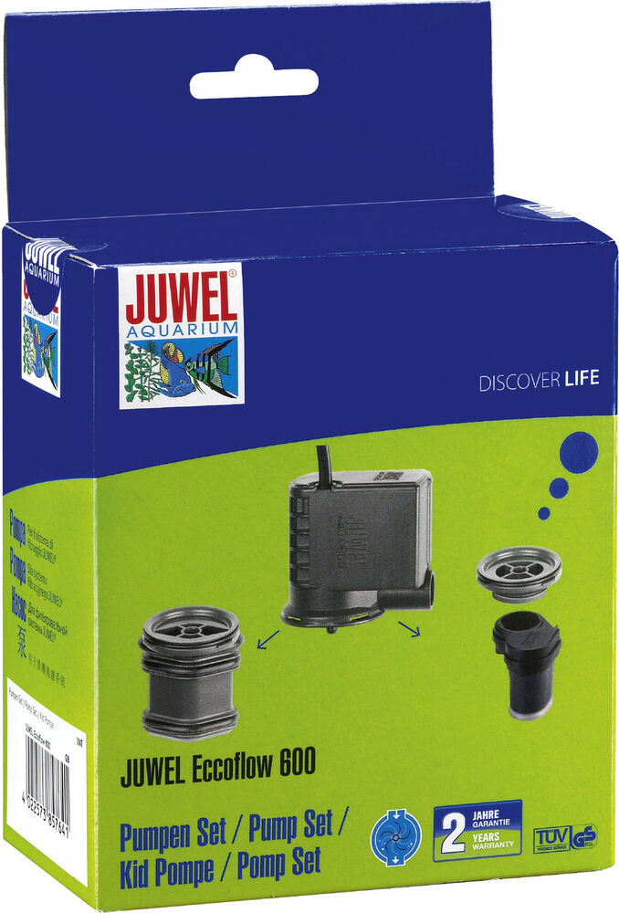 juwel eccoflow 600 umw lzpumpe aquarien pumpen set bioflow ebay. Black Bedroom Furniture Sets. Home Design Ideas