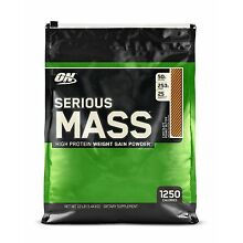 OPTIMUM NUTRITION SERIOUS MASS! Chocolate Peanut Butter 12 lbs Protein Powder