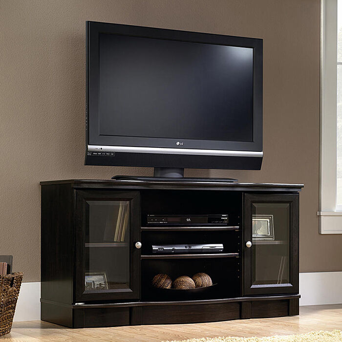 elegant tv stand media entertainment center console rack. Black Bedroom Furniture Sets. Home Design Ideas