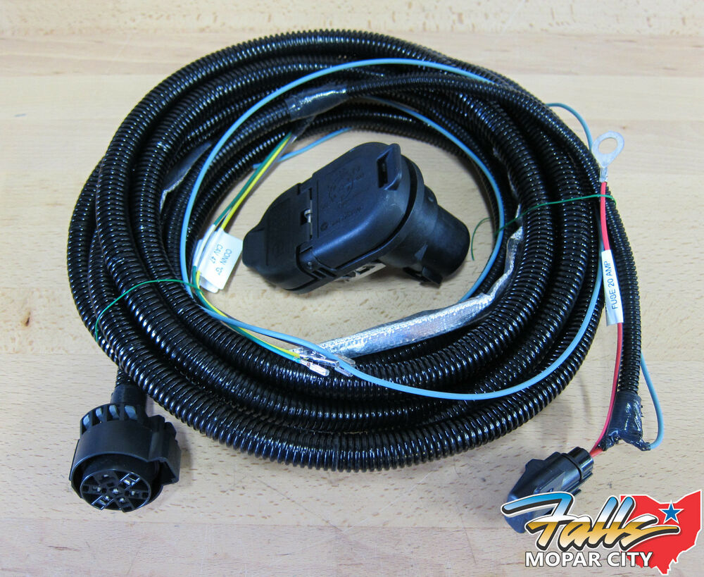 Cherokee Factory Trailer Harness Wire Colors Wiring Diagram Will Dodge Durango 2011 2013 Jeep Grand Tow Kit 5