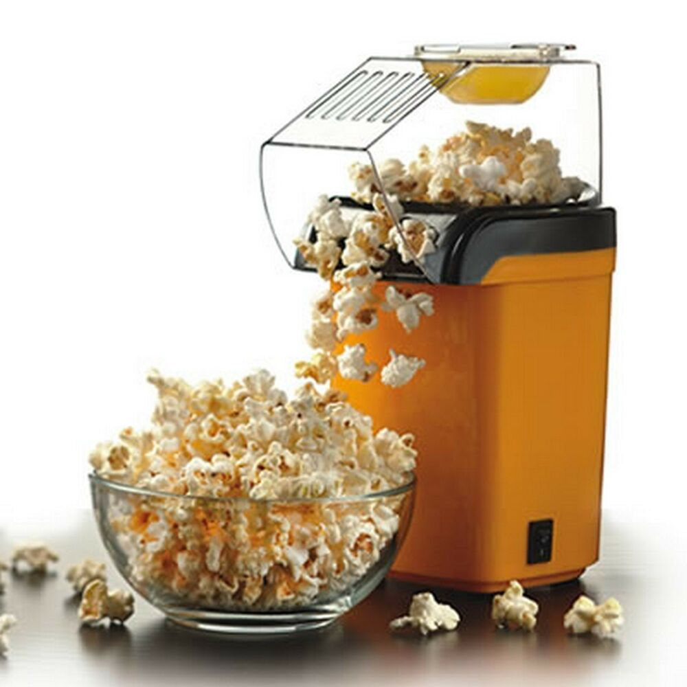 Hot Air Table Top Electric Pop Corn Maker Machine With