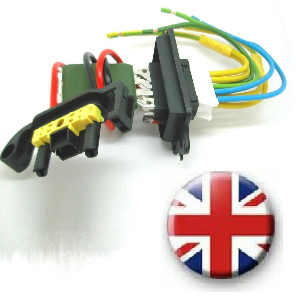 Repair Kit Renault Megane Ii Heater Blower Fan Resistor Plus Wiring Loom Harness