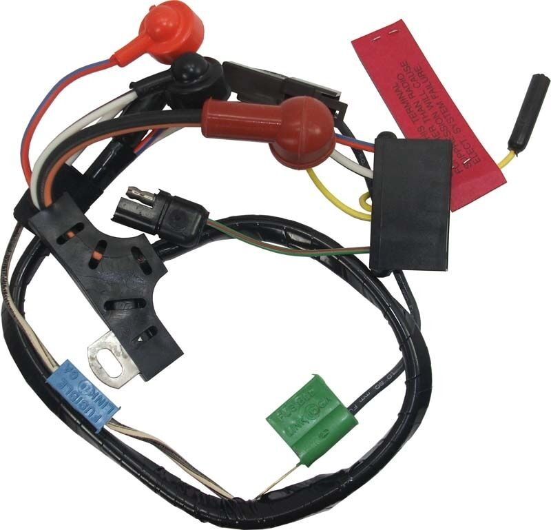 73 Mustang Alternator Wiring Harness W  O Gauges For 42