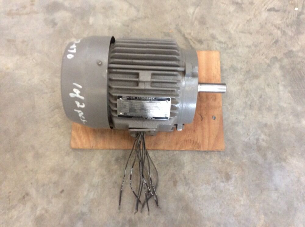 Toshiba b3 48flf2am 3 4 hp high efficiency induction for High efficiency electric motors