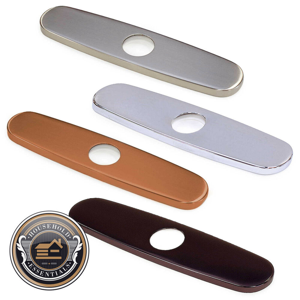 Kitchen Sink Deck Plate Covers