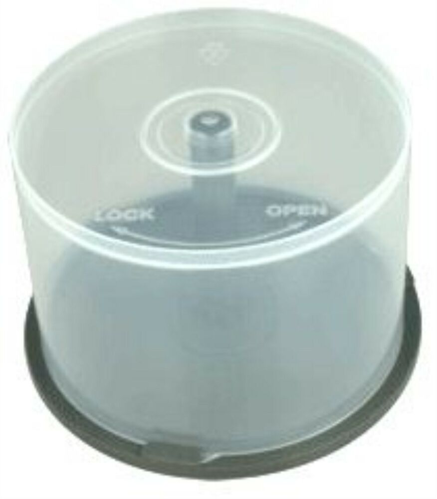 Empty Cd Spindle Cake Box