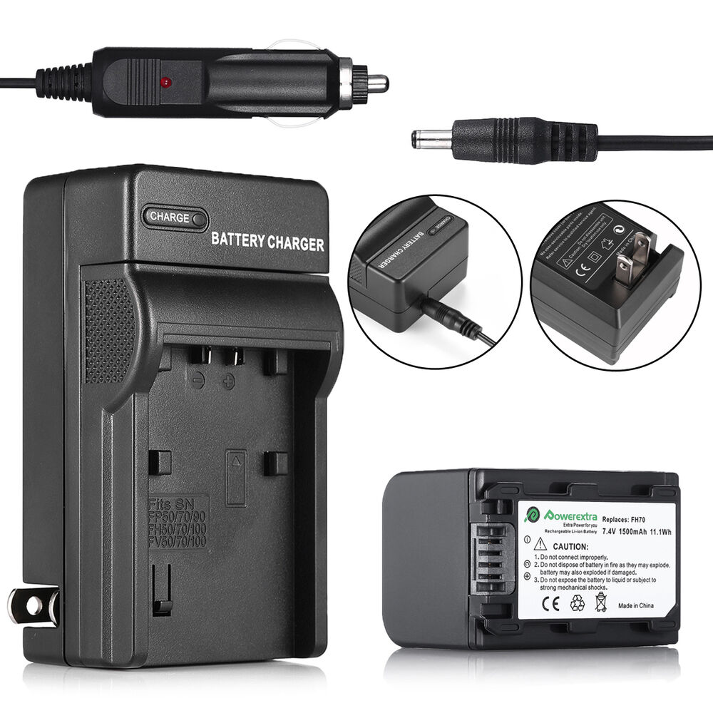 Battery Charger For Sony Handycam Hdr Hc9 Dcr Hc52 Np