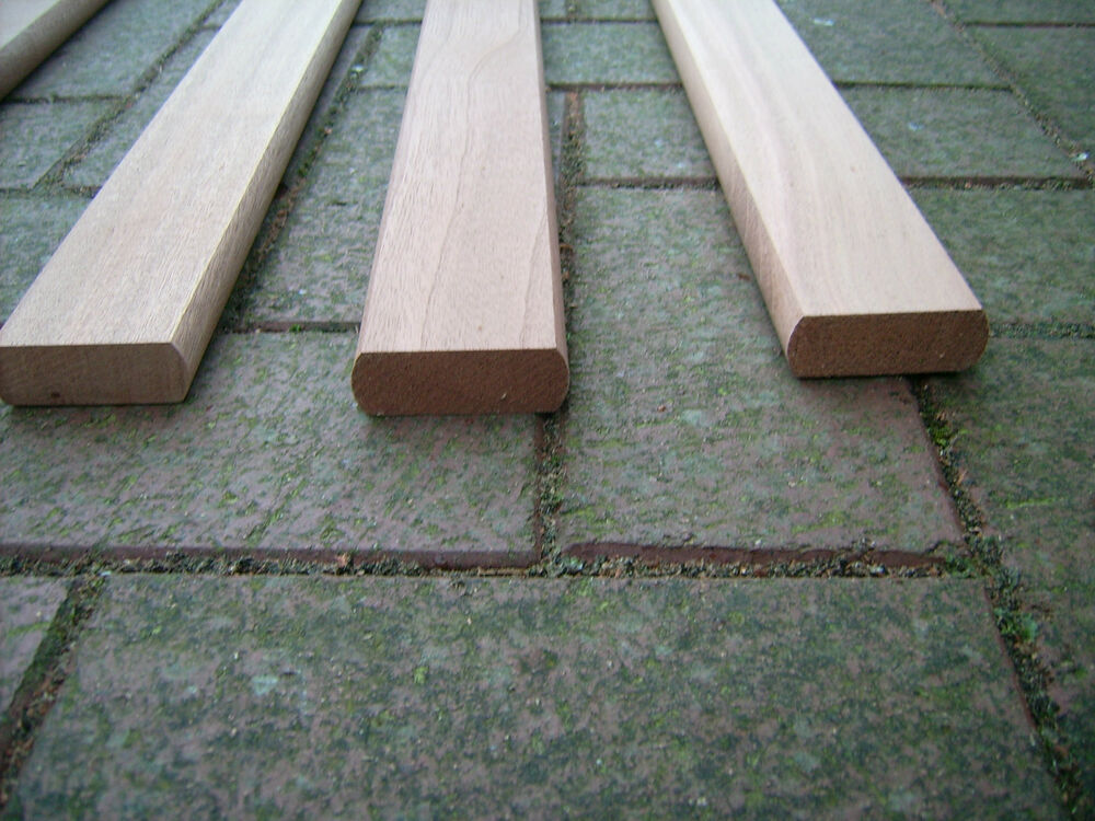 Replacement Garden Bench Slats Laths Iroko Sanded Finish