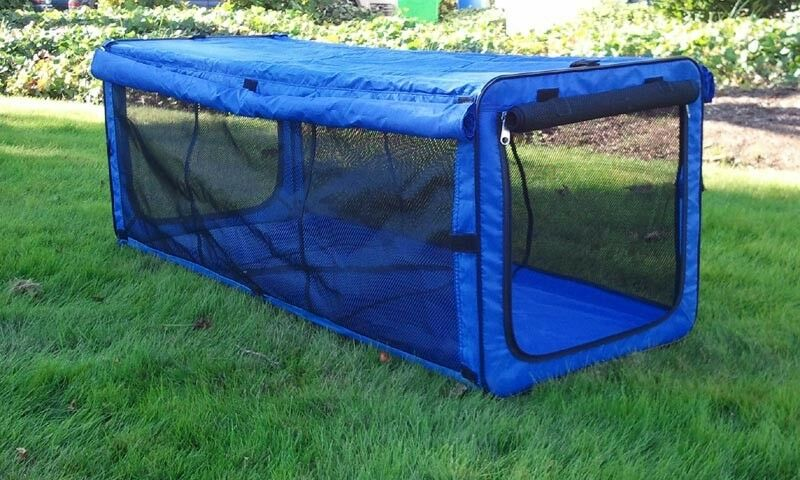One Man Portable Enclosures : Durable indoor cat tent for outdoor patio kennel safety