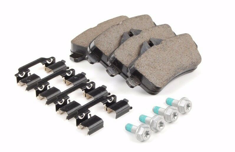 Mercedes w166 ml genuine rear brake pad set pads w sensor for Mercedes benz e350 brake pads replacement