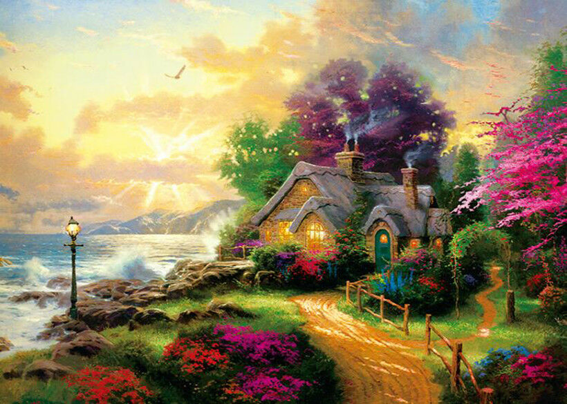 Fairy Tale House Scenery Jigsaw Puzzle 1000 piece ...