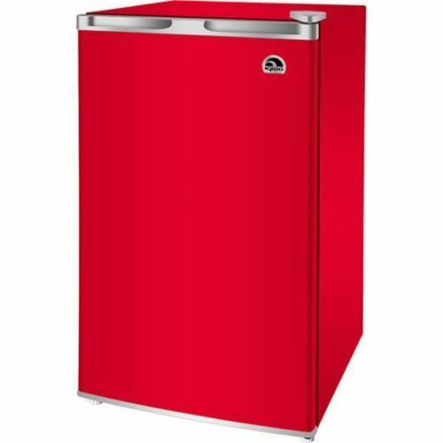 Igloo 3 2 Cu Ft Refrigerator Red Fridge Mini Cooler Dorm