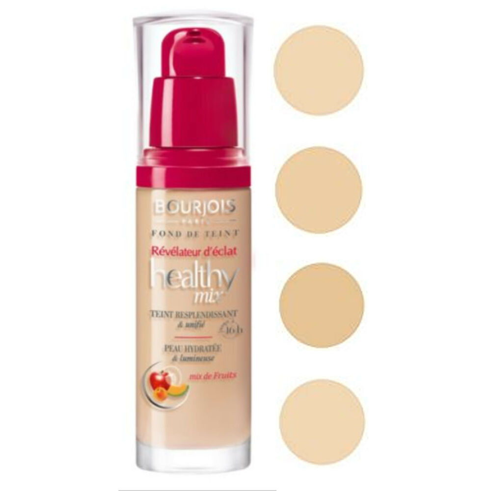 bourjois healthy mix foundation 30ml choose your shade ebay. Black Bedroom Furniture Sets. Home Design Ideas