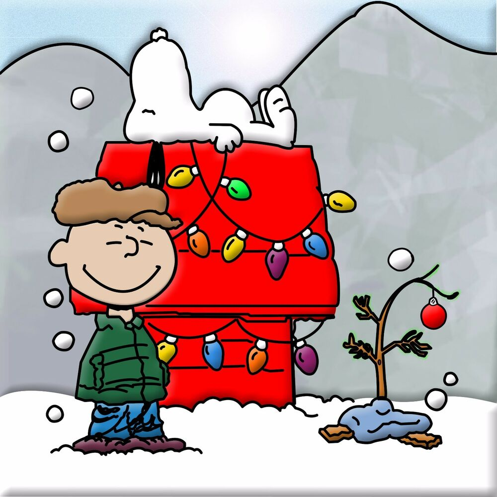 Peanut Christmas Tree: Charlie-brown-Christmas (tree) 24 X 24 Poster