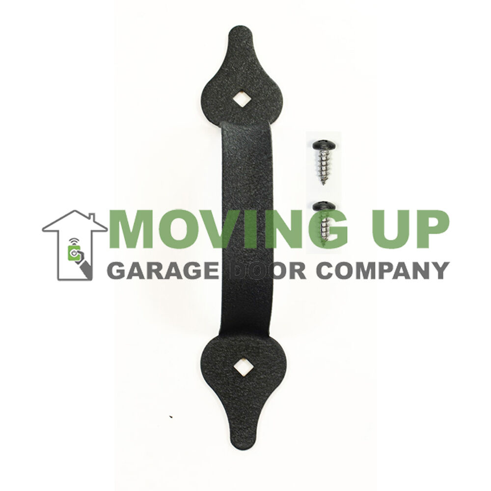 Garage Door Decorative Lift Handle 8 3 4 Quot Black Hardware